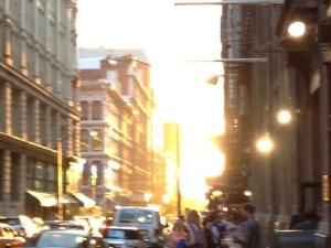 Sun in Street