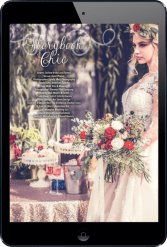 Fashion coordination by Meredith Corning for The Pink Bride magazine. Photo by Lyndsi Metz Photography.