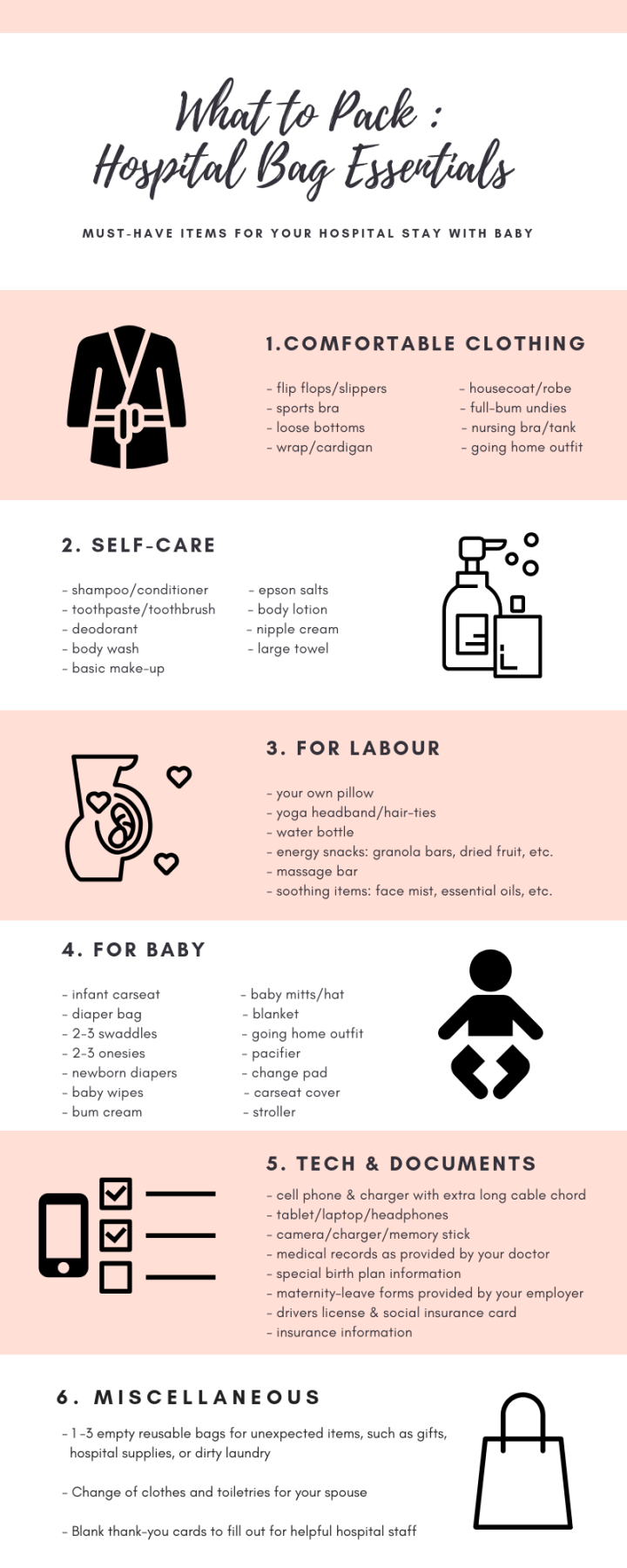 What to Pack -Mama's Hospital Bag (4)