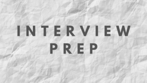 Behavioral Mock Interview