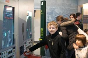 Train simulator London Transportation Museum