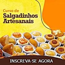 Curso de Salgadinhos Artesanais Online