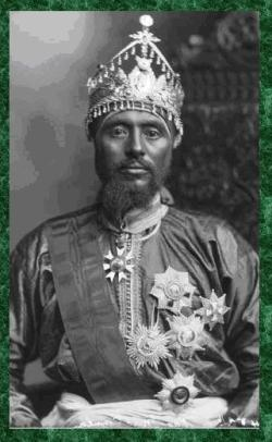 Ras Makonnen Wolde Michael, Governor of Harrar, de facto Foreign Minister, Cousin of Emperor Men ...