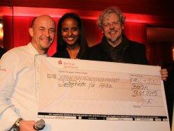 Ethiopian-German model Sara Nuru helped raised 27,900 Euros for Karlheinz Böhm's  foundati ...