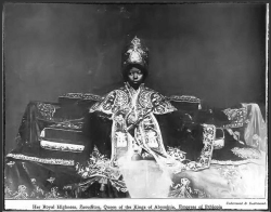 Empress Zewditu I of Ethiopia