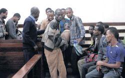 Frail looking Ethiopians appear in Kenyan court on Feb. 24