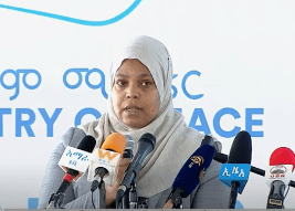 Government will never allow the Ethiopian national flag, which our fathers and mothers hoisted high above, to fly an inch down- Muferiat Kamil  (video)