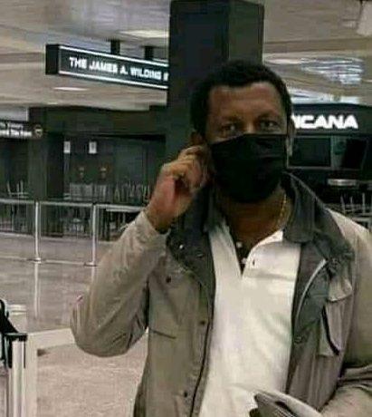 Lidetu Ayalew arrived in the U.S. for medical treatment