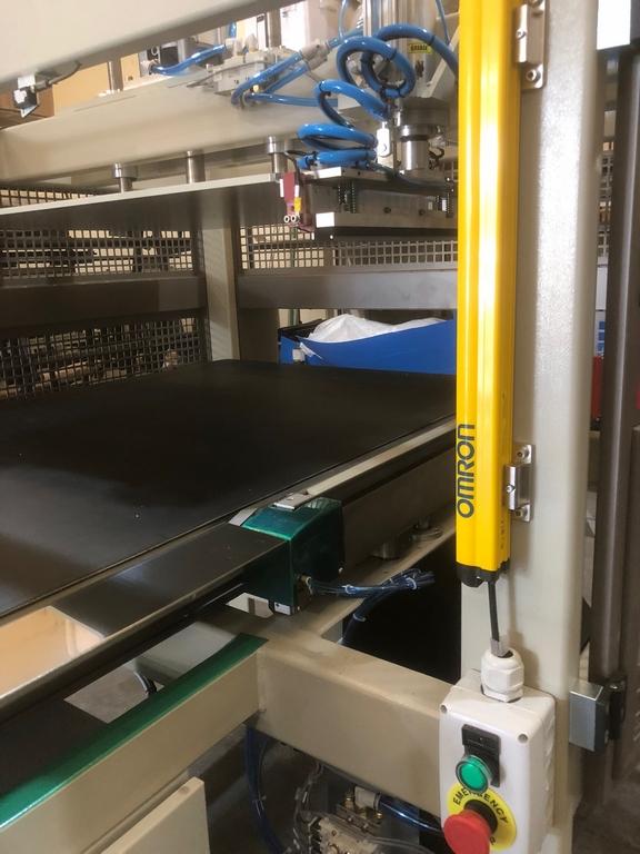 Maquinaria de enrollado de almohadas y edredones