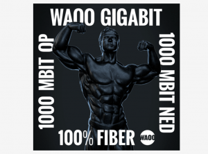 Waoo gigabit fiber