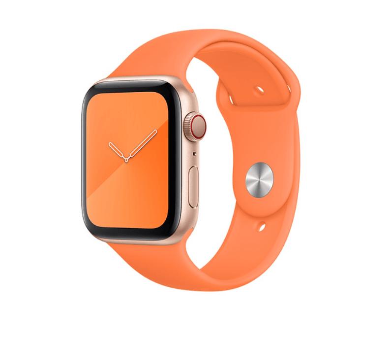 Apple Watch Series 5 med ny Vitamin-C sportsrem (Foto: Apple)