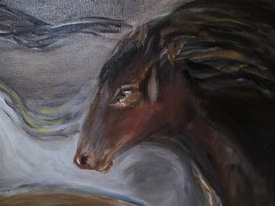 détail harde 20 chevaux