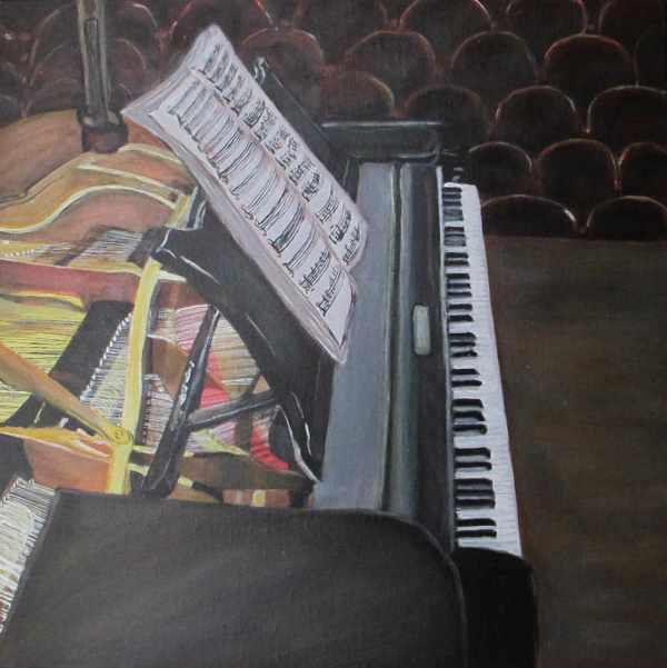 Piano avant concert