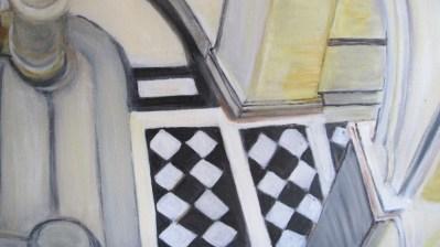 peinture détail intérieur