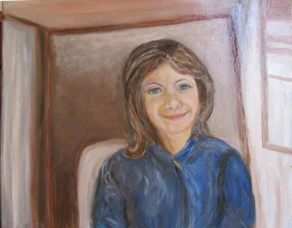 Peinture Il Sorriso della Bambina - Mérèse
