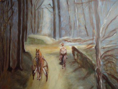 Peinture Sous Bois - Mérèse