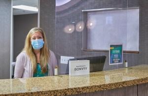 Masked Hotel Associate