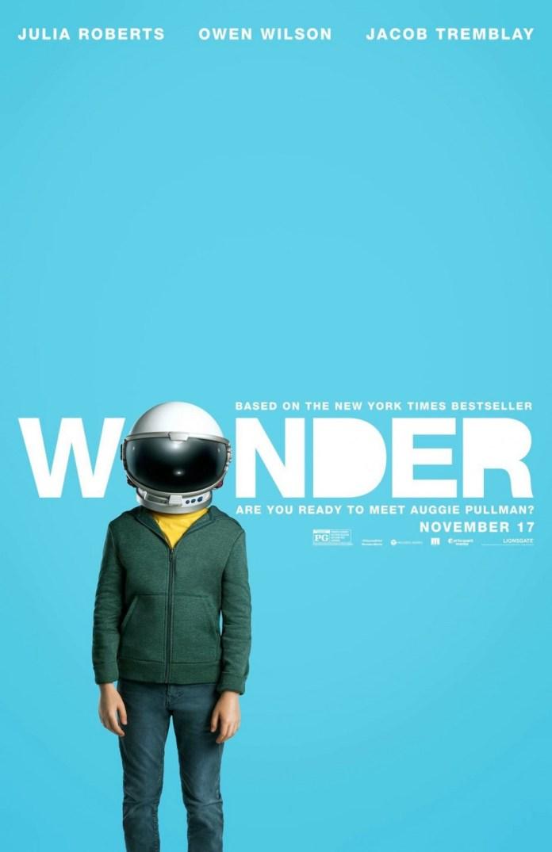 โปสเตอร์จากภาพยนตร์เรื่อง Wonder