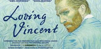 Poster จากภาพยนตร์เรื่อง Loving Vincent
