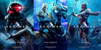 Aquaman Characters Poster