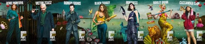 Birds Of Prey characters poster