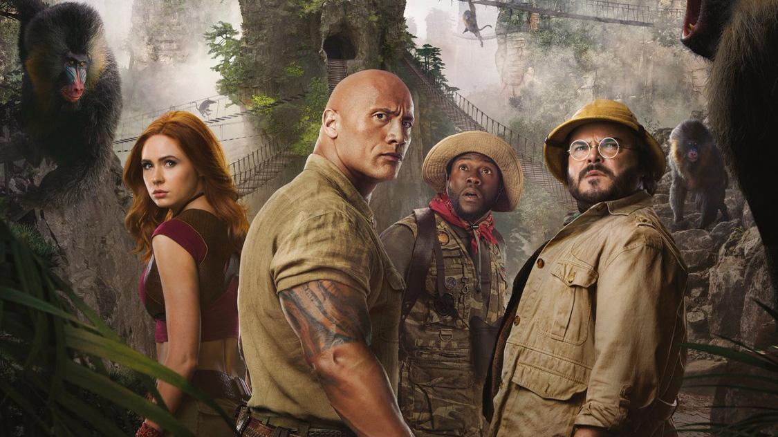 รีวิวภาพยนตร์แนวตลกผจญภัย Jumanji เกมดูดโลก ตะลุยด่านมหัศจรรย์