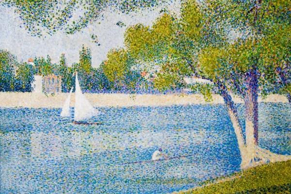 25 Point Dot Art Landscape Boat Pictures And Ideas On Pro Landscape