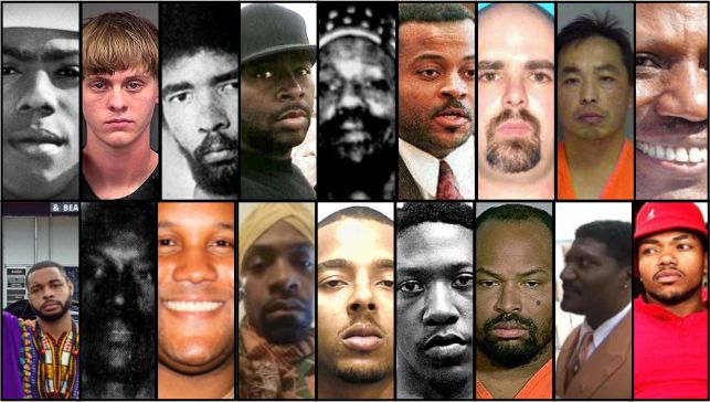 The 18 deadliest racially motivated mass killings in modern US history