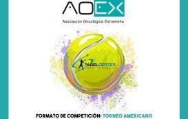 Torneo Americano Solidario de pádel a beneficio de la Asociación Oncológica Extremeña