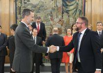 El alcalde asiste a la audiencia del Rey a la Junta de Gobierno de la FEMP