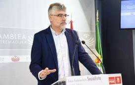 El PSOE pide a Rajoy ayudas para los agricultores del norte de Cáceres