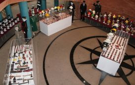 """La exposición """" Bomberos del Mundo"""" ya se puede visitar en el Centro Cultural Alcazaba"""