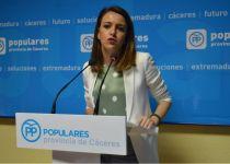 """El PP pide la reprobación de Vergeles para """"restaurar el honor de los 97.000 extremeños insultados en lista de espera"""""""