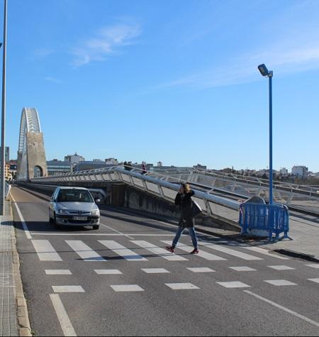 Se instalan puntos de luz peatonales en Mérida que se regulan al detectar los movimientos