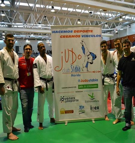 Pleno de victorias para el Stabia en la 1ª división masulina de judo