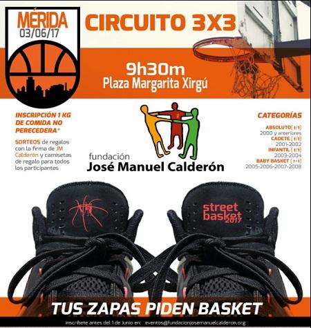 El 3×3 Street Basket Tour vuelve a Mérida este sábado 3 de junio
