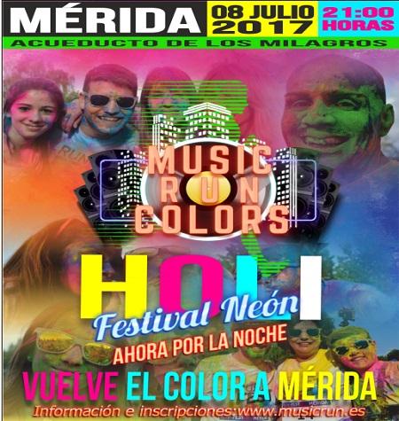 La MUSIC RUN COLORS mezcla deporte y diversión para todas las edades el 8 de julio en Mérida