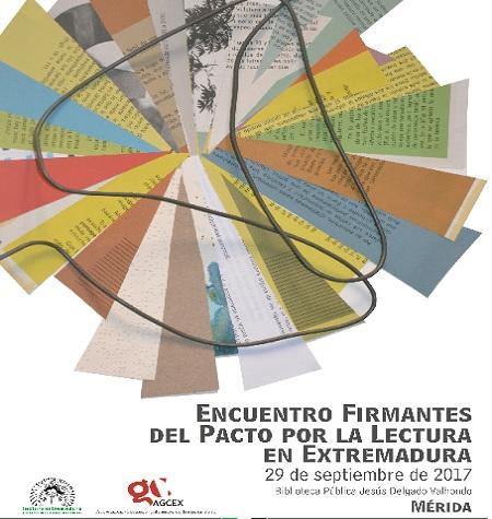 """""""I Encuentro de Firmantes del Pacto por la Lectura en Extremadura"""", en Mérida"""