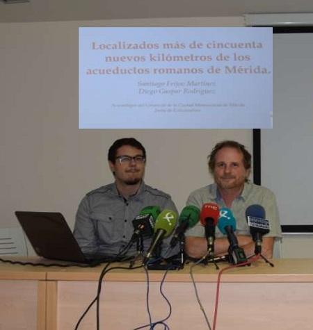 Arqueólogos del Consorcio de Mérida descubren nuevos tramos de dos acueductos romanos