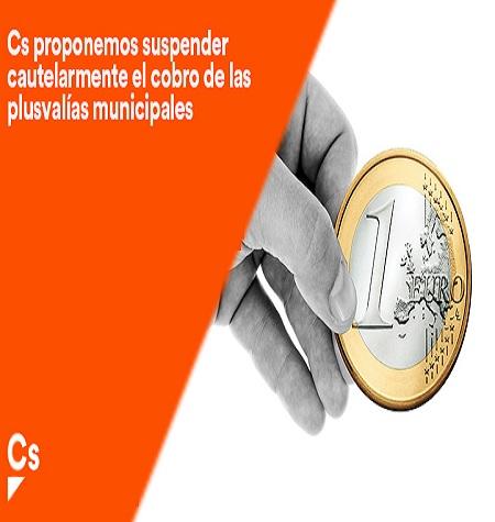 Ciudadanos registra en el Ayuntamiento de Mérida una solicitud para suspender las liquidaciones de las plusvalías municipales