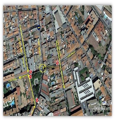Interrupción del suministro de agua y del tráfico en varias calles en Mérida
