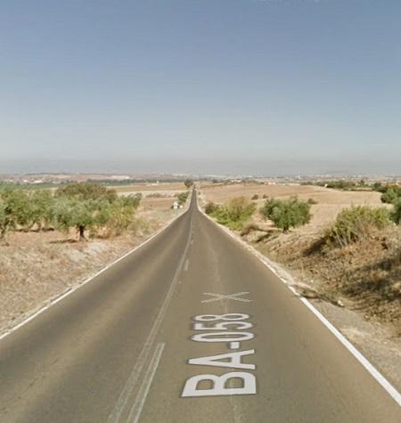 Expropiación de terrenos para ensanchar la carretera entre Don Álvaro y Mérida