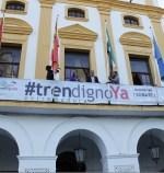 """Mérida se suma a la reivindicación """"#tren digno ya"""" y fletará, mínimo 7 autobuses, para viajar a Madrid el 18N"""