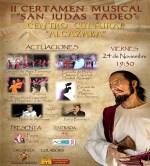 """II Certamen Musical """"San Judas Tadeo"""", organizado por la Cofradía de la Sagrada Cena y Nuestra Señora del Patrocinio"""