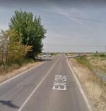 Ocupación de terrenos para obras de mejora en la carretera de Badajoz a Mérida por Montijo
