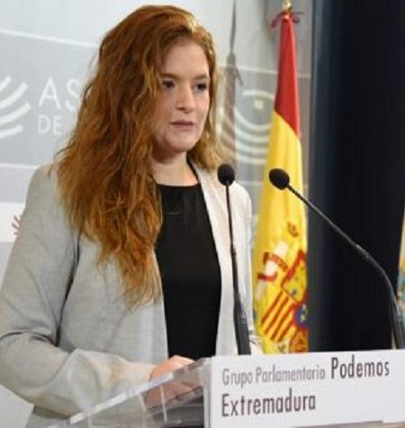 Podemos Extremadura le presenta a la Consejera de Hacienda un Plan de Garantías para los Presupuestos