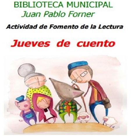 """Se reanudan los """"Jueves de cuento"""" en la Biblioteca Municipal de Mérida"""