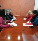PSOE y CC OO abordan la situación del nuevo concurso del transporte sanitario