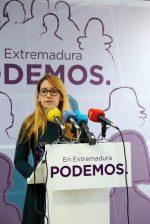 Podemos Extremadura reivindica el espíritu de la manifestación del 18N