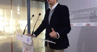 """El PP afirma que cuando coinciden gobiernos socialistas en Madrid y Extremadura, """"el AVE sale volando"""""""